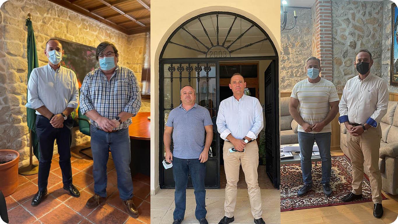 Carchelejo, Cazalilla y Noalejo se alían con Law Consulting para asesorar a los vecinos