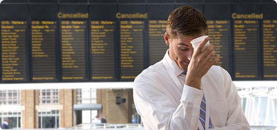 Cancelación avión