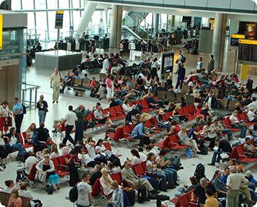 Aeropuerto overbooking