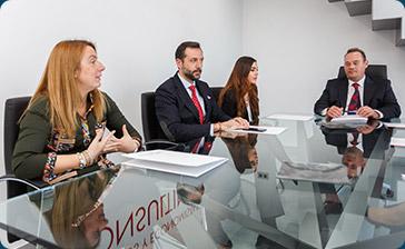 Reunión de abogados